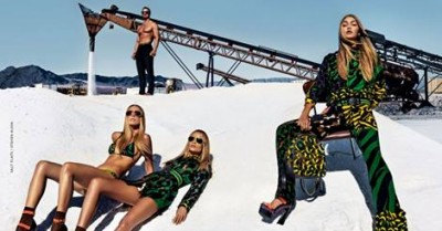 Gigi Hadid Fronts Versace Spring/Summer 16 Campaign