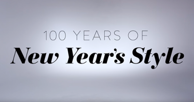 100 Years of New Years Style-Daily Front Row