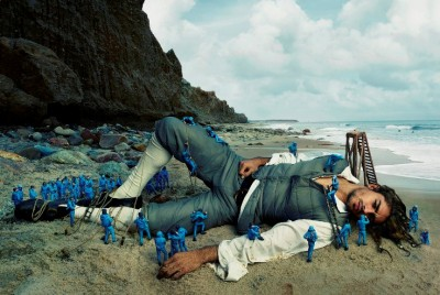 Annie Leibovitz Shoots Moody Moncler SS16 Campaign