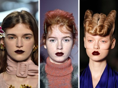 The Seven Biggest Beauty Trends From Fashion Week