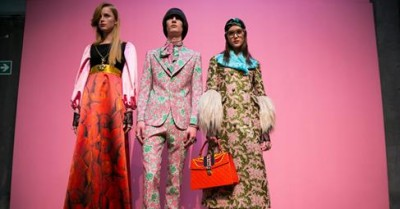 Gucci Calls for End to Separation of the Sexes on the Runway