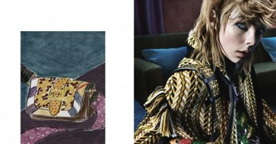 Burberry Taps Artist Luke Edward Hall and Mario Testino to Create Campaign