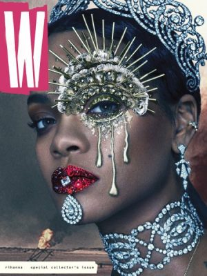 Rihanna Covers W Magazine's September Issue