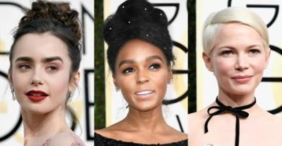 7 Beauty Trends that Swept The Golden Globes Red Carpet