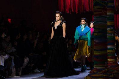 Bella Hadid closed Prabal Gurung's NYFW February 2019 runway…