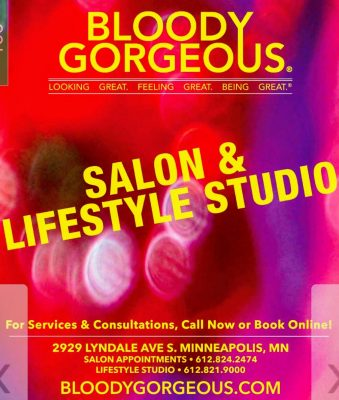 salonwithoutwalls artist on-location MPLS:  Master Stylist – Makeup Artist – Gregg Tusler